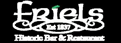 Friels Historic Bar & Restaurant – Swatragh, Northern Ireland Logo