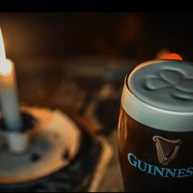 Drinks, Pints of Guinness, Friels Irish Pub