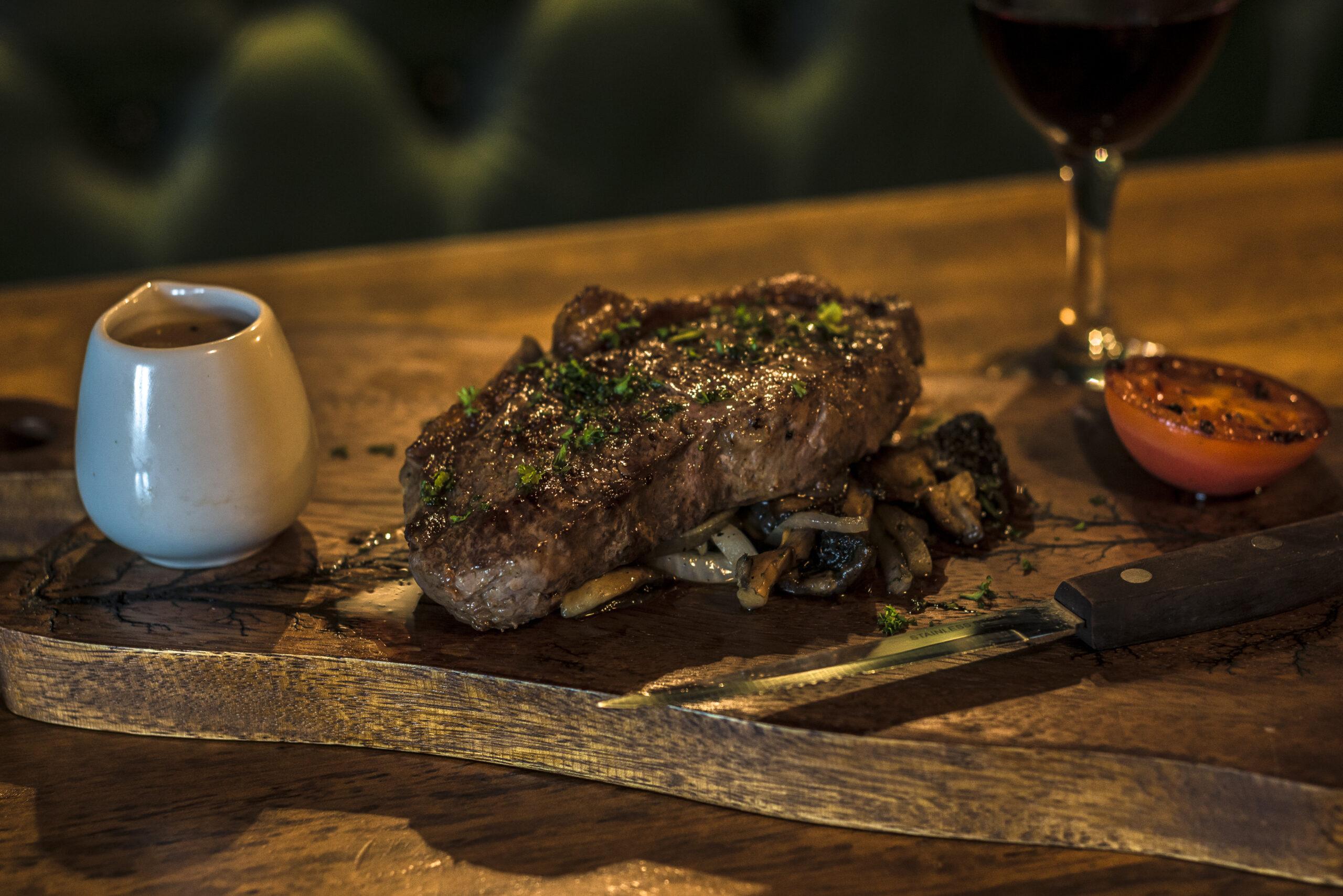 Steak, Pepper Sauce, Friels Bar Restaurant Swatragh